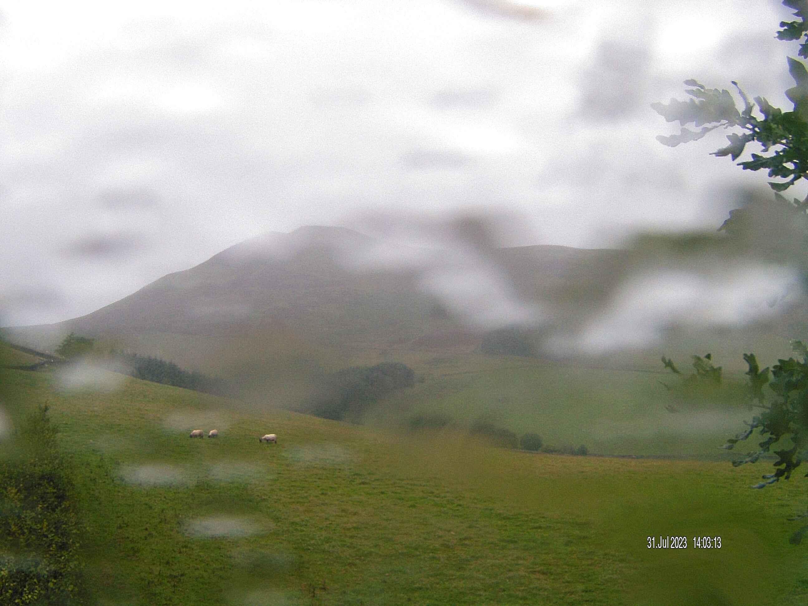 Pentland Webcam near Edinburgh
